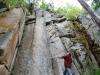 Syphon Creek granite bluffs in Gleneden