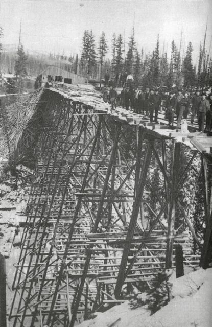 Forest Industry Was Key To Shuswap Settlement Shuswap